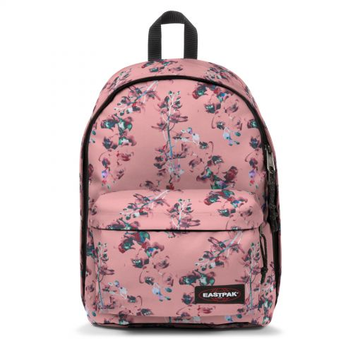 Out Of Office Romantic Pink Backpacks by Eastpak - Front view