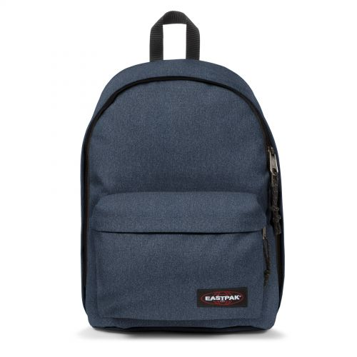 Out Of Office Double Denim Backpacks by Eastpak - Front view