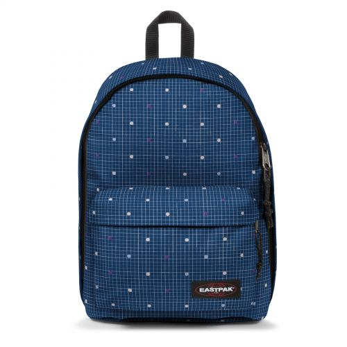 Out Of Office Little Grid Backpacks by Eastpak - Front view