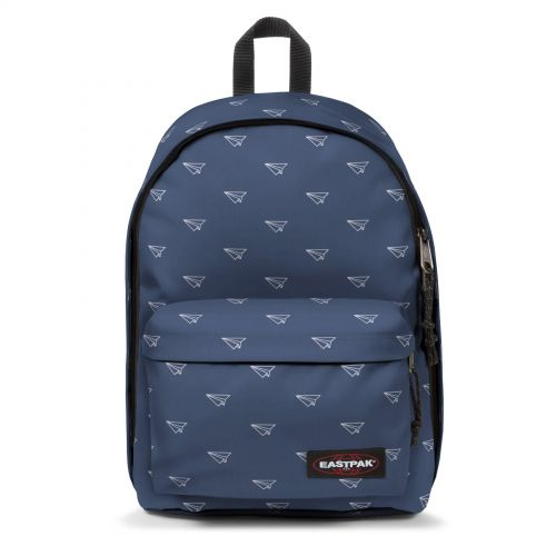 Out Of Office Minigami Planes Backpacks by Eastpak - Front view