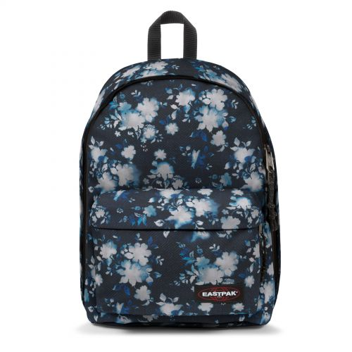 Out Of Office Bleach Flower Backpacks by Eastpak - Front view