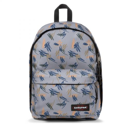 Out Of Office Scribble Local Backpacks by Eastpak - Front view