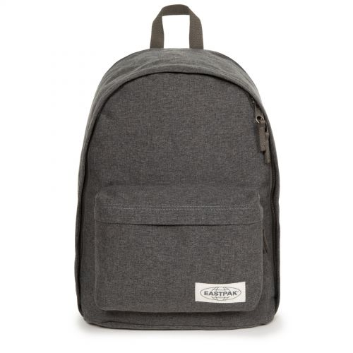 Out Of Office Muted Black Backpacks by Eastpak - Front view