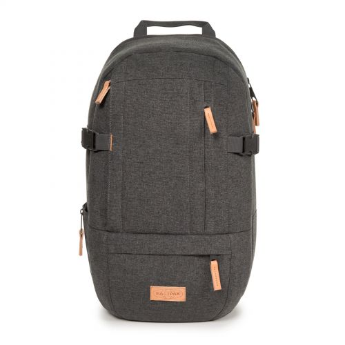 Wyson Black Denim Backpacks by Eastpak - Front view