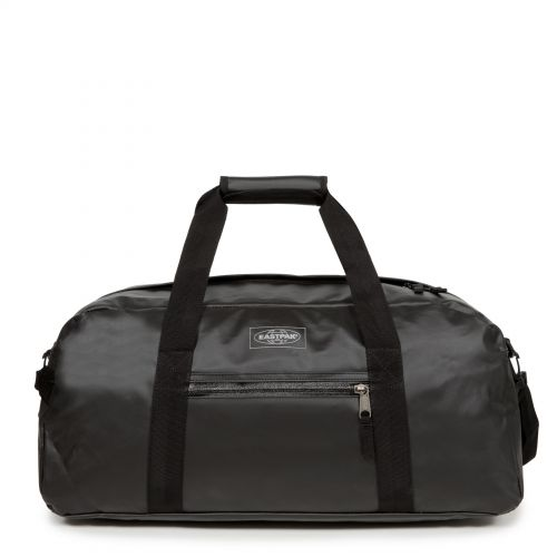 Stand + Topped Black Luggage by Eastpak - Front view