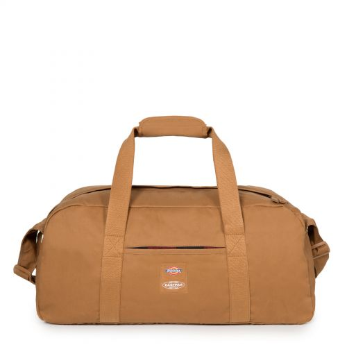 Stand + Dickies Brown Duck Luggage by Eastpak - Front view
