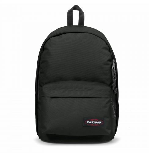 Back To Wyoming Black Backpacks by Eastpak - Front view