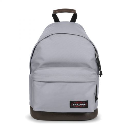 Wyoming Local Lilac Backpacks by Eastpak - Front view