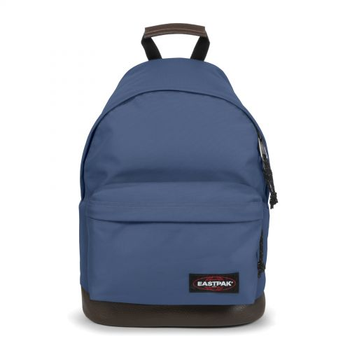 Wyoming Humble Blue Backpacks by Eastpak - Front view
