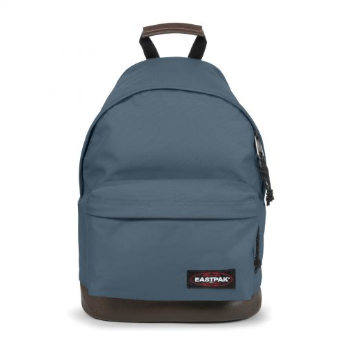 Wyoming Ocean Blue Backpacks by Eastpak - Front view