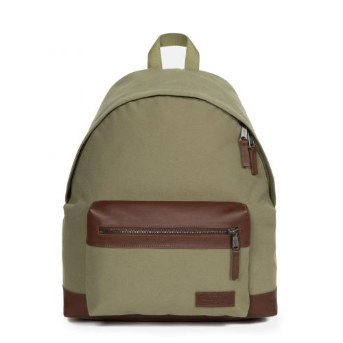 Wyoming Mix Khaki Backpacks by Eastpak - Front view