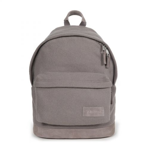 Wyoming Fleather Grey by Eastpak - Front view