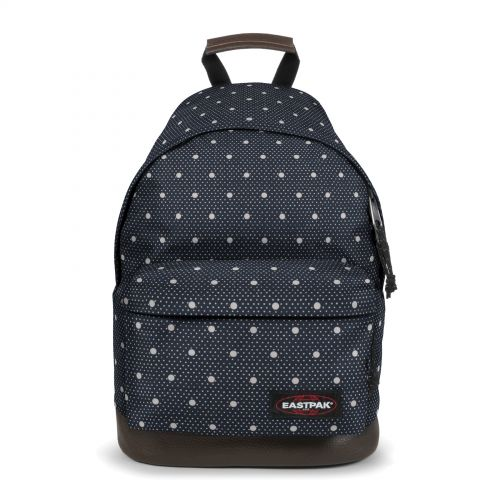 Wyoming Little Dot Backpacks by Eastpak - Front view