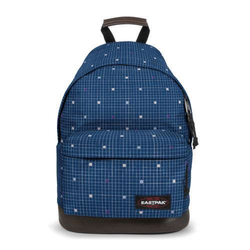 Wyoming Little Grid Backpacks by Eastpak - Front view