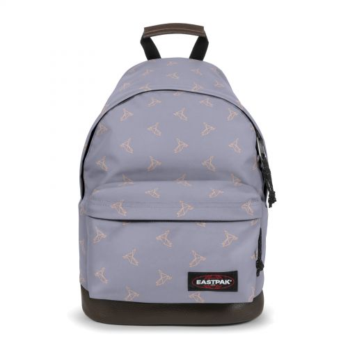 Wyoming Minigami Birds Backpacks by Eastpak - Front view