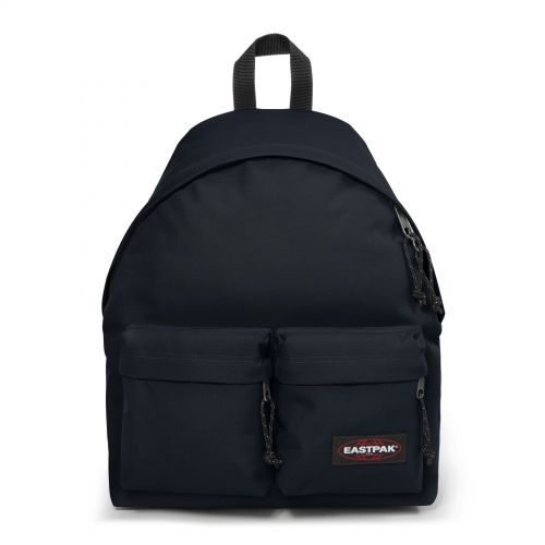 Padded Doubl'R Cloud Navy Backpacks by Eastpak - Front view