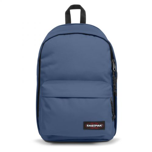 Back To Work Humble Blue Backpacks by Eastpak - Front view