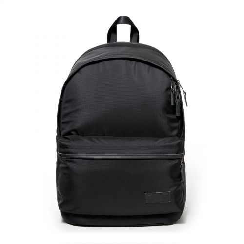 Back To Work Constructed Black Backpacks by Eastpak - Front view