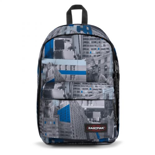 Back To Work Chroblue Backpacks by Eastpak - Front view