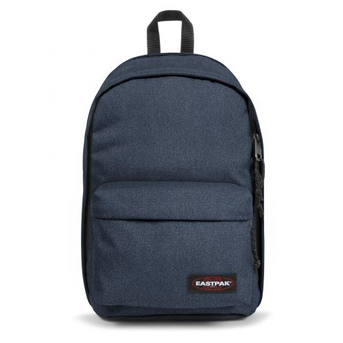 Back To Work Double Denim Backpacks by Eastpak - Front view
