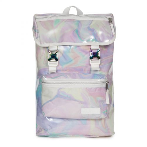 Rowlo Marble Transparent Backpacks by Eastpak - Front view