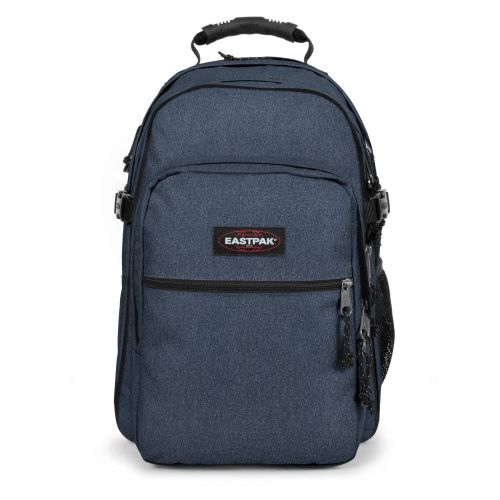Tutor Double Denim Backpacks by Eastpak - Front view