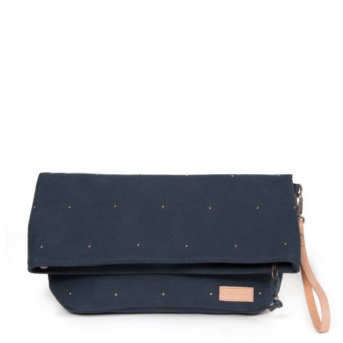 Tiffiny Studded Navy by Eastpak - Front view