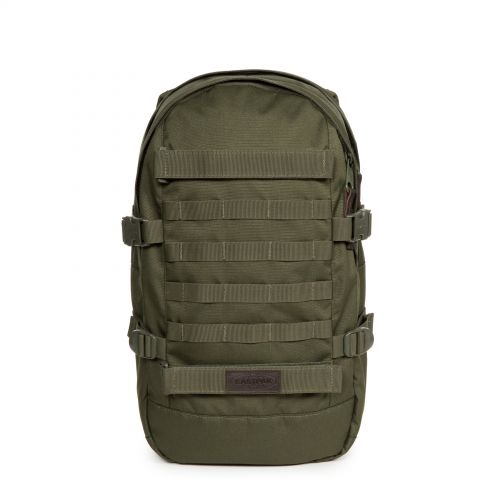 Floid Tact Mono Jungle Backpacks by Eastpak - Front view
