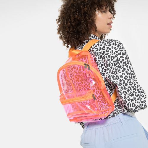 Orbit XS Fluo Pink Film Backpacks by Eastpak - view 15
