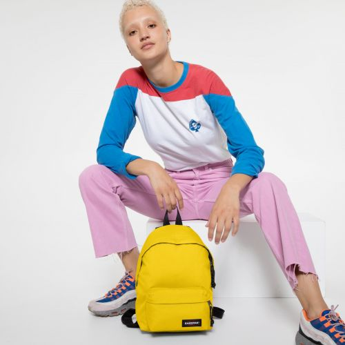 Orbit XS Rising Yellow Backpacks by Eastpak - view 2