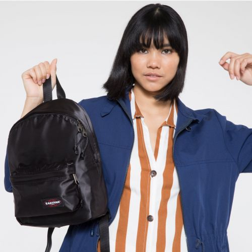 Orbit XS Satin Black Backpacks by Eastpak - view 2