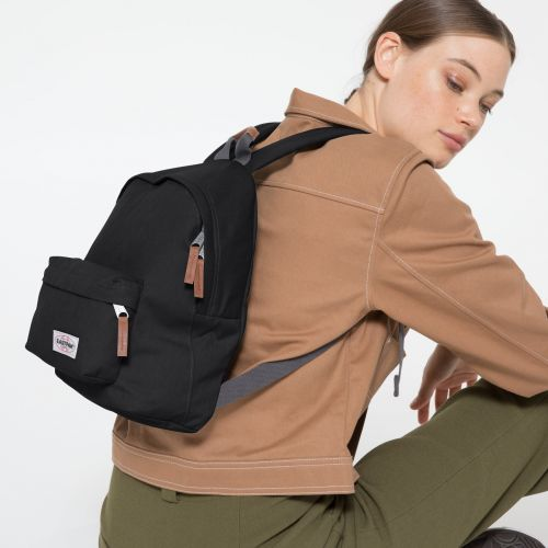 Orbit XS Opgrade Black Backpacks by Eastpak - view 2
