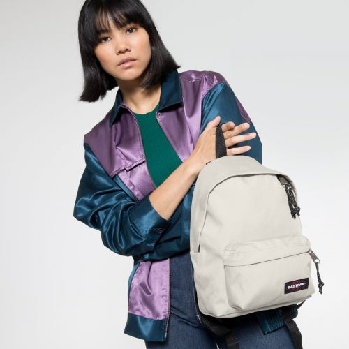 Orbit XS Pearl White Backpacks by Eastpak - view 2