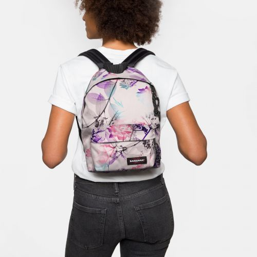 Orbit XS Pink Ray Backpacks by Eastpak - Front view