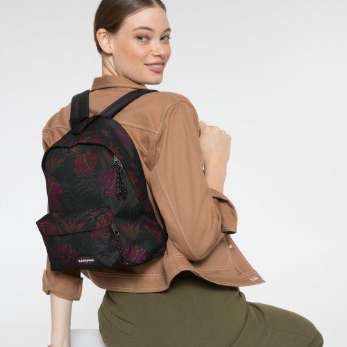 Orbit XS Mesh Black Hibiscus Backpacks by Eastpak - view 2