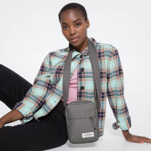 The One Muted Grey Shoulderbags by Eastpak - view 2