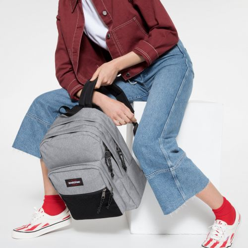 Pinnacle Sunday Grey Backpacks by Eastpak - view 2
