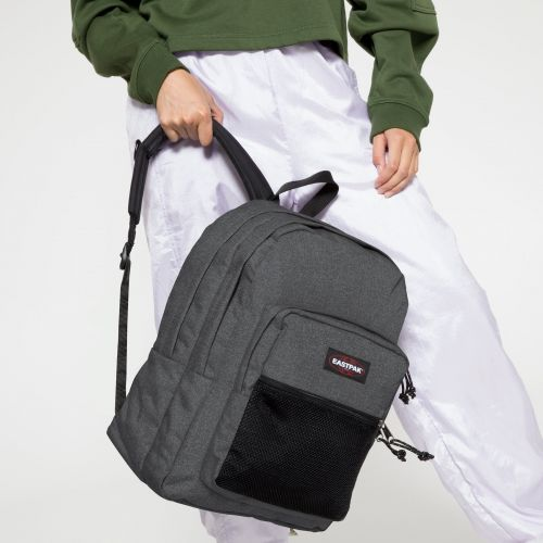 Pinnacle Black Denim Backpacks by Eastpak - view 2