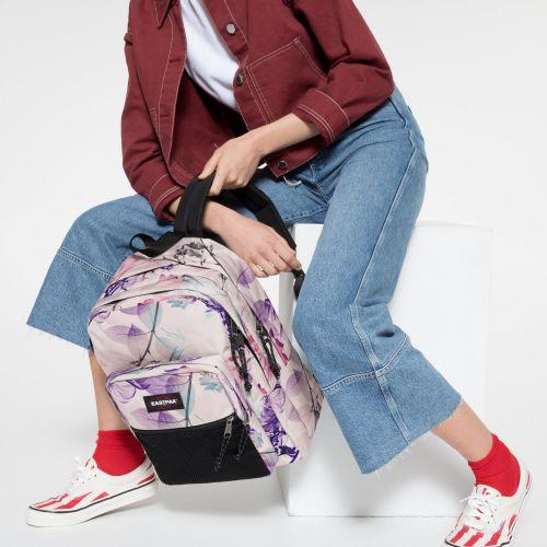 Pinnacle Pink Ray Backpacks by Eastpak - view 2