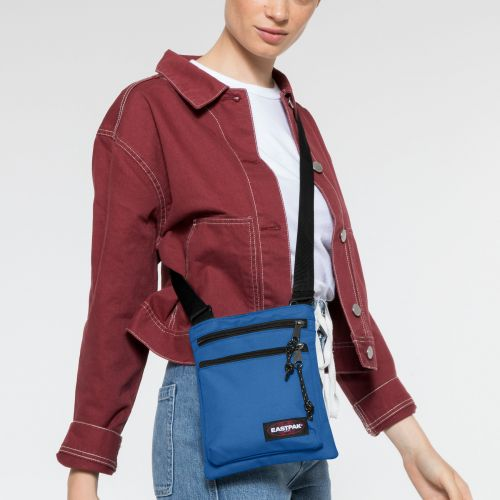 Rusher Mediterranean Blue Shoulderbags by Eastpak - view 2