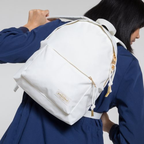 Orbit XS Sleek'r Goldout White Backpacks by Eastpak - view 2
