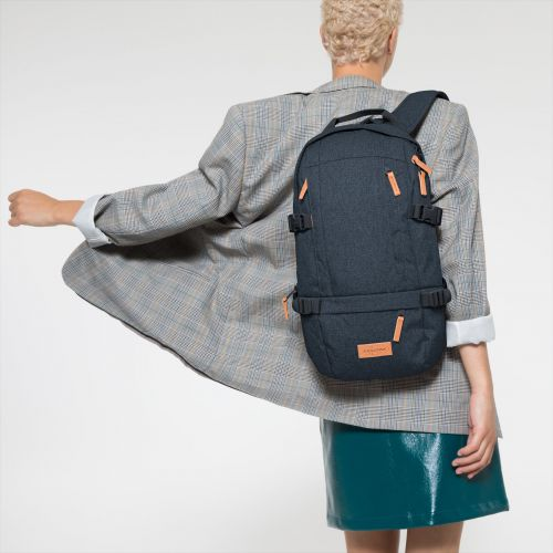 Floid CS Triple Denim Backpacks by Eastpak - view 2