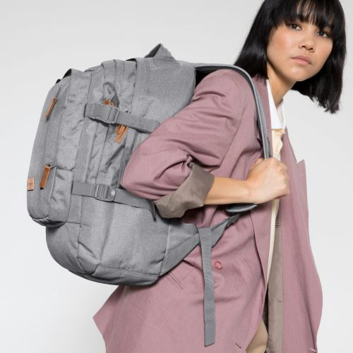 Volker Sunday Grey Backpacks by Eastpak - view 2