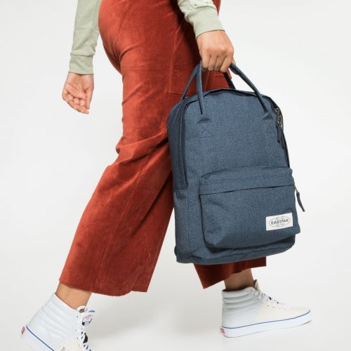 Padded Shop'r Muted Blue Backpacks by Eastpak - view 2