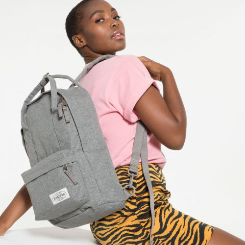 Padded Shop'r Muted Grey Backpacks by Eastpak - view 2