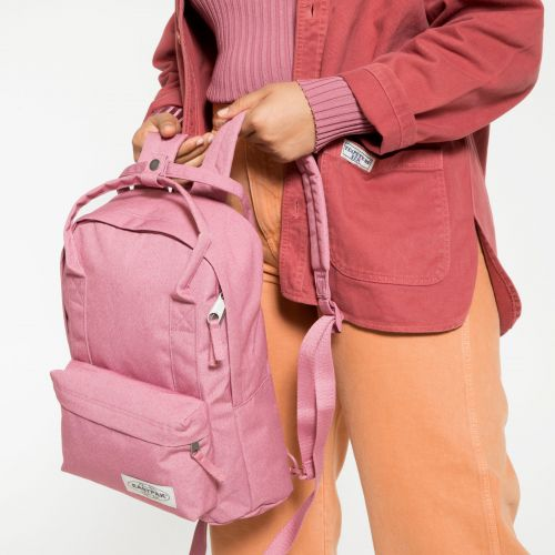 Padded Shop'r Muted Pink Backpacks by Eastpak - view 2