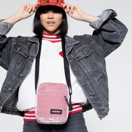 The One W Crushed Pink Shoulderbags by Eastpak - view 2