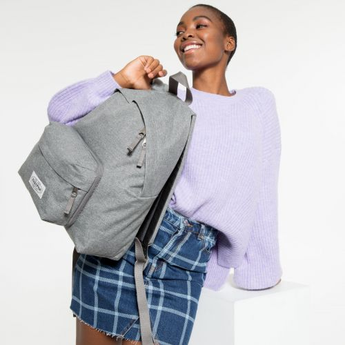 Padded Travell'r Muted Grey Backpacks by Eastpak - view 2