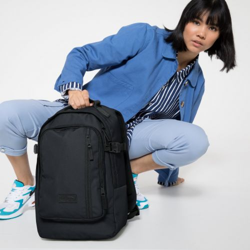Smallker Black Backpacks by Eastpak - view 2