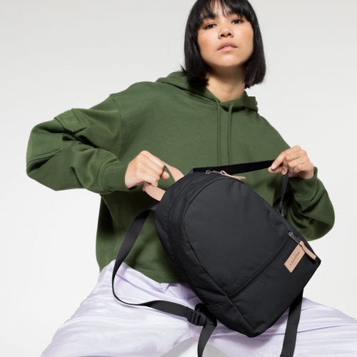 Lucia M Super Black Backpacks by Eastpak - view 2